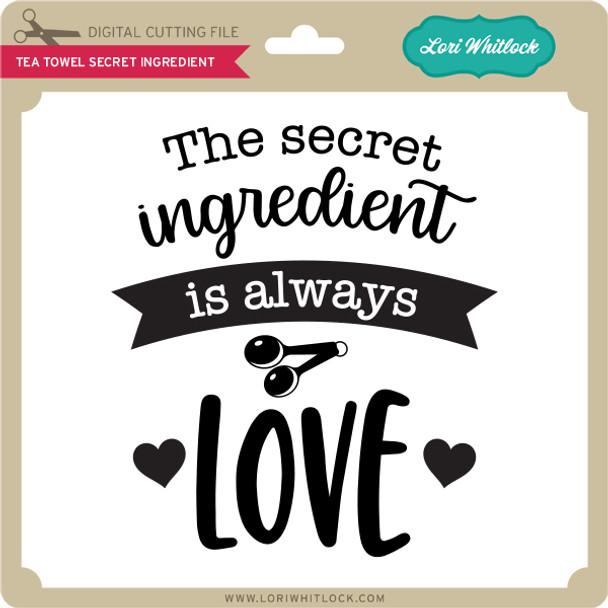 Tea Towel Secret Ingredient