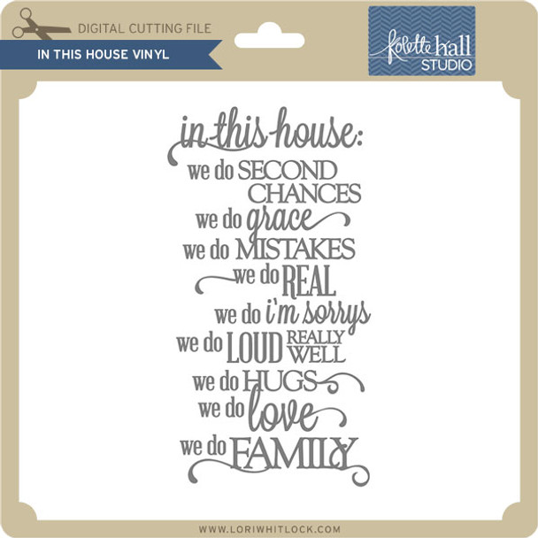 In This House Vinyl