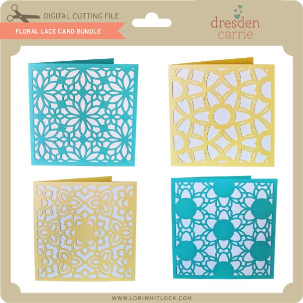 Floral Lace Card Bundle