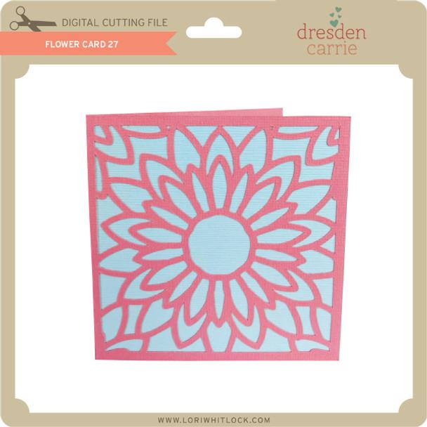 Flower Card 27