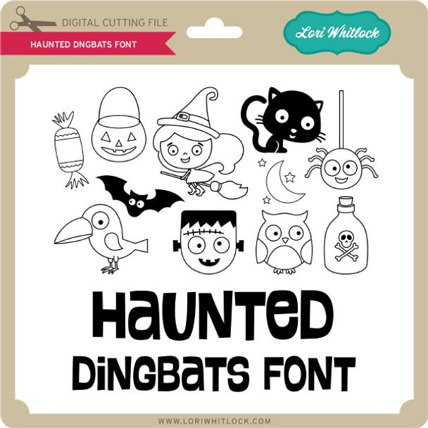 Haunted Dingbats Font