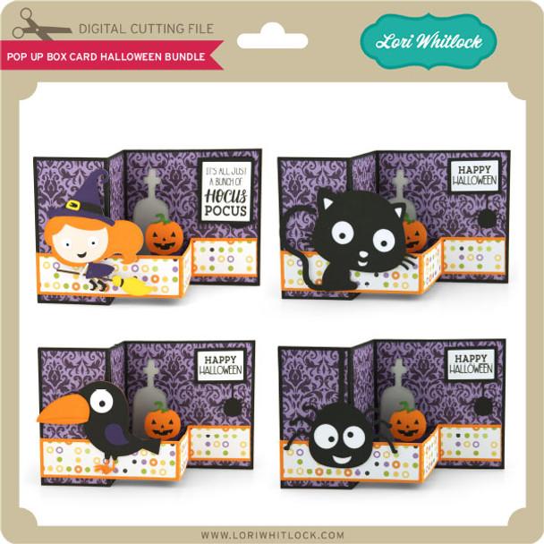 Pop Up Box Card Halloween Bundle