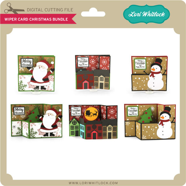 Wiper Card Christmas Bundle