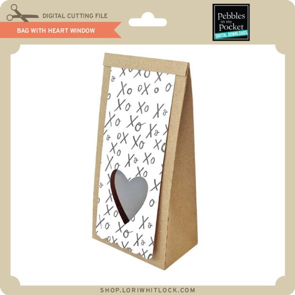 Bag With Heart Window