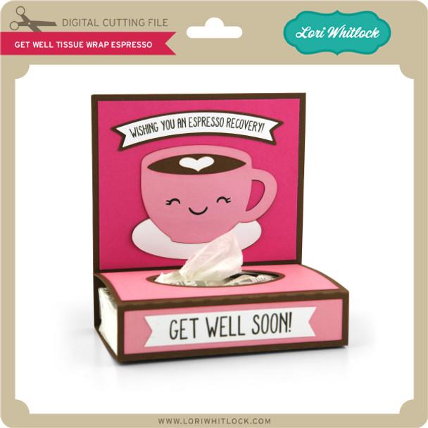Get Well Tissue Wrap Espresso