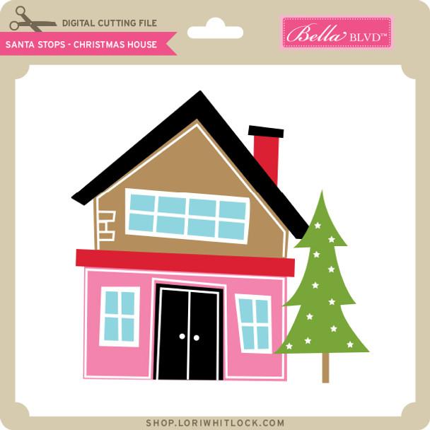 Santa Stops - Christmas House