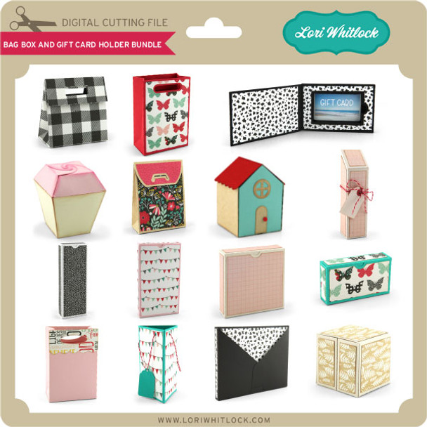 Bag Box and Gift Card Holder Bundle