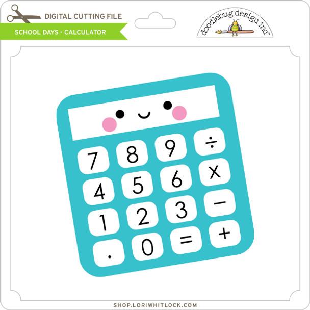 School Days - Calculator