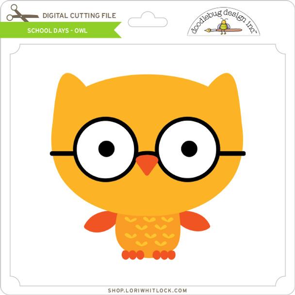 School Days - Owl