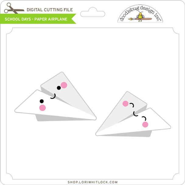 School Days - Paper Airplane
