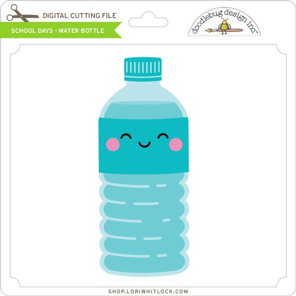School Days - Water Bottle