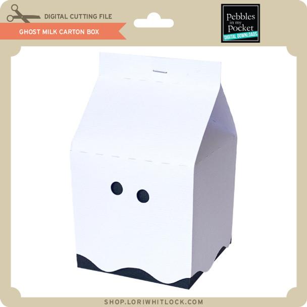 Ghost Milk Carton Box