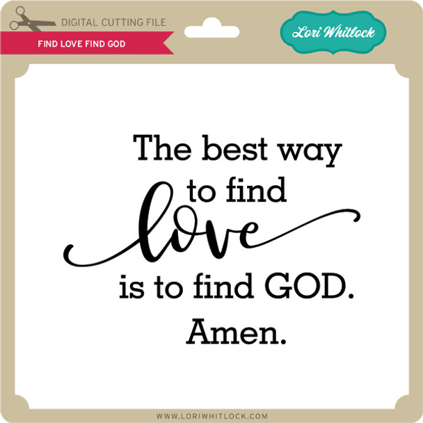 Find Love Find God
