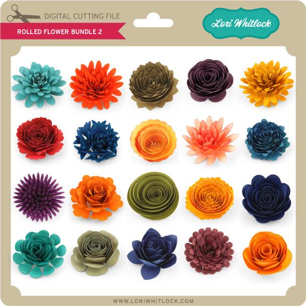 Rolled Flower Bundle 2