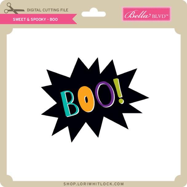 Sweet & Spooky - Boo
