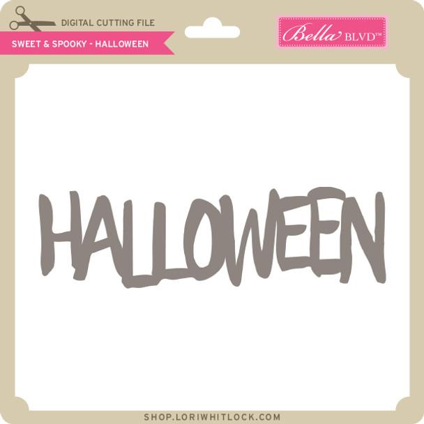 Sweet & Spooky - Halloween
