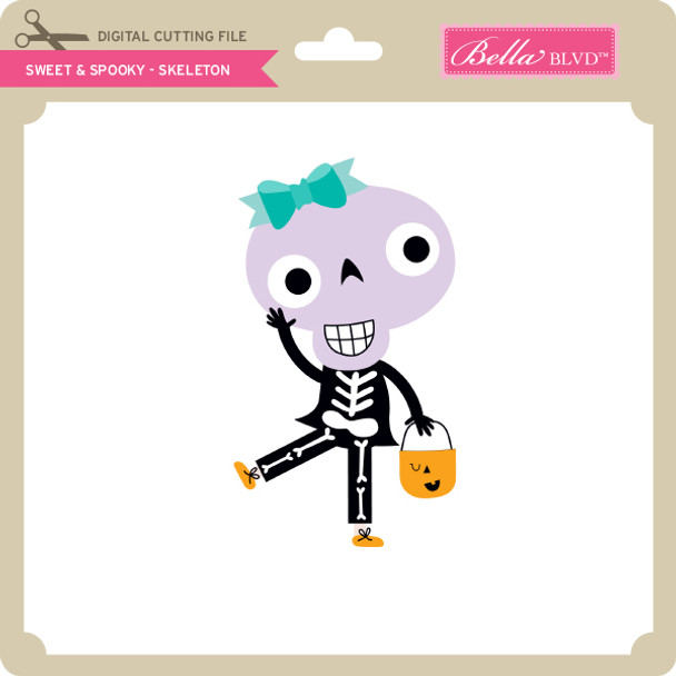Sweet & Spooky - Skeleton