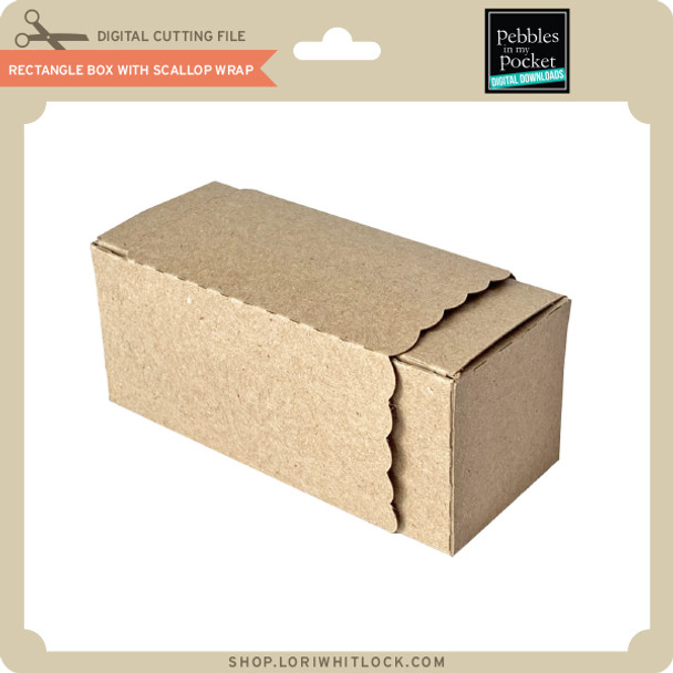 Rectangle Box With Scallop Wrap