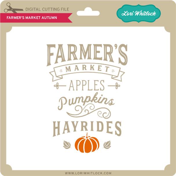 Farmer's Market Autumn