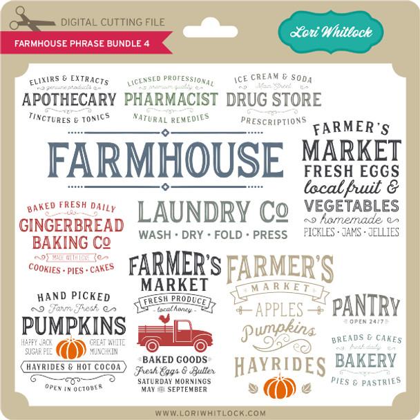 Farmhouse Phrase Bundle 4