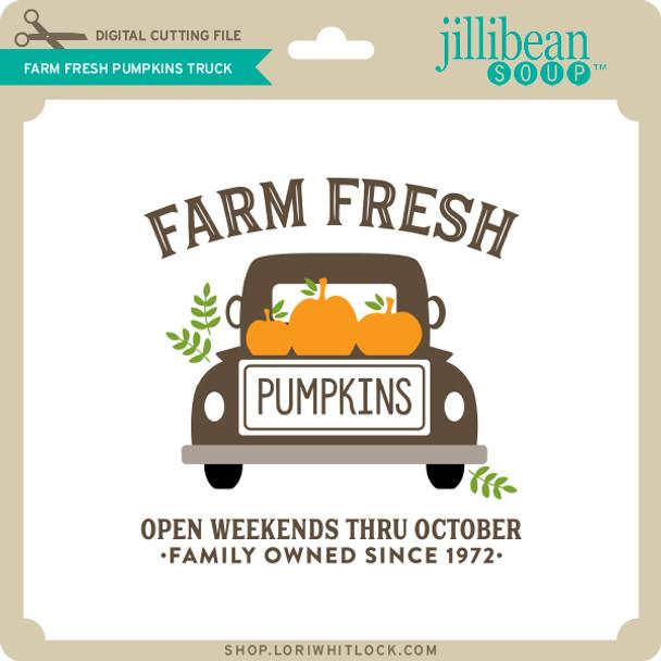 Farm Fresh Pumpkins Truck