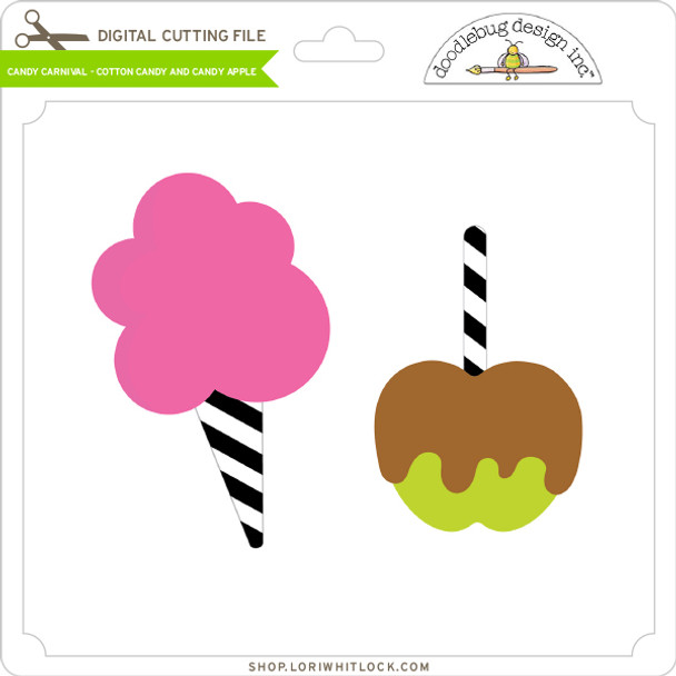 Candy Carnival - Cotton Candy and Candy Apple