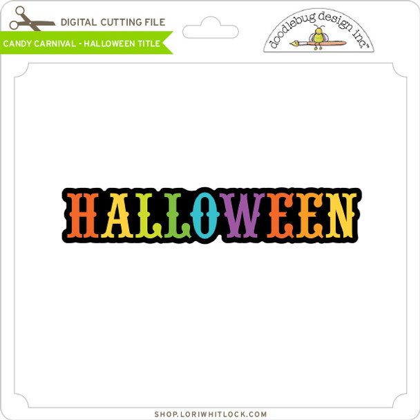 Candy Carnival - Halloween Title