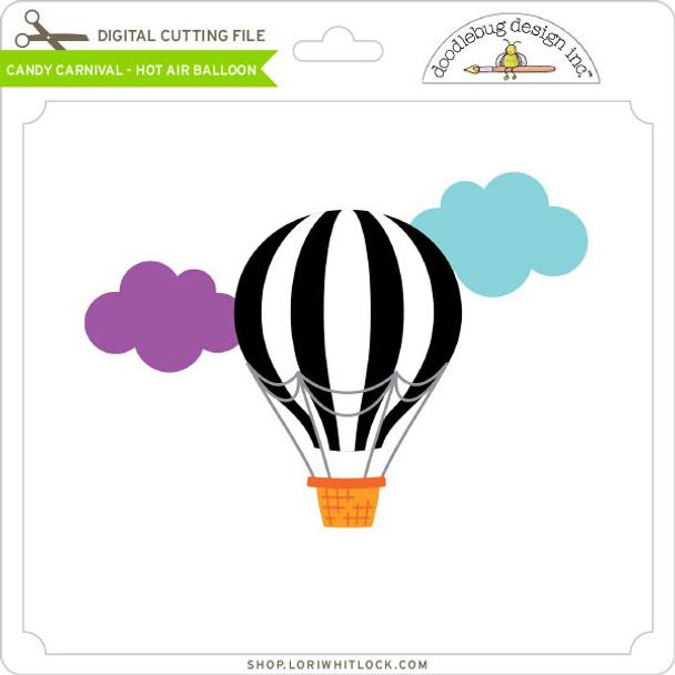 Candy Carnival - Hot Air Balloon
