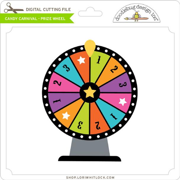 Candy Carnival - Prize Wheel