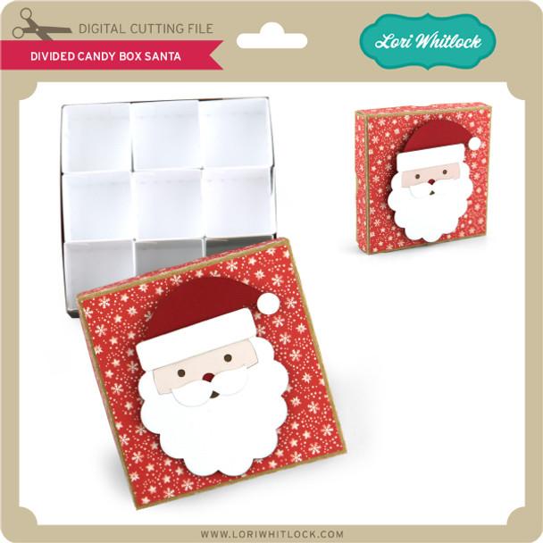 DIvided Candy Box Santa