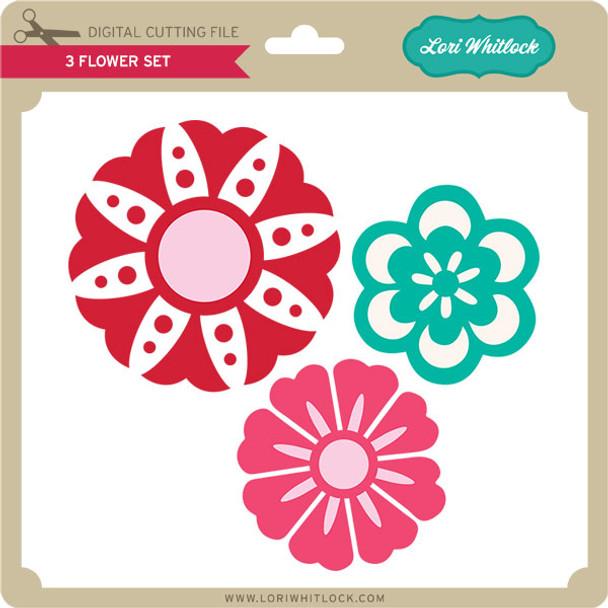 3 Flower Set