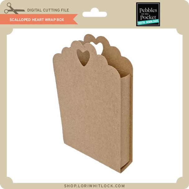 Scalloped Heart Wrap Box