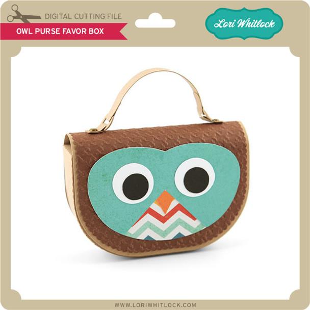 Owl Purse Favor Box