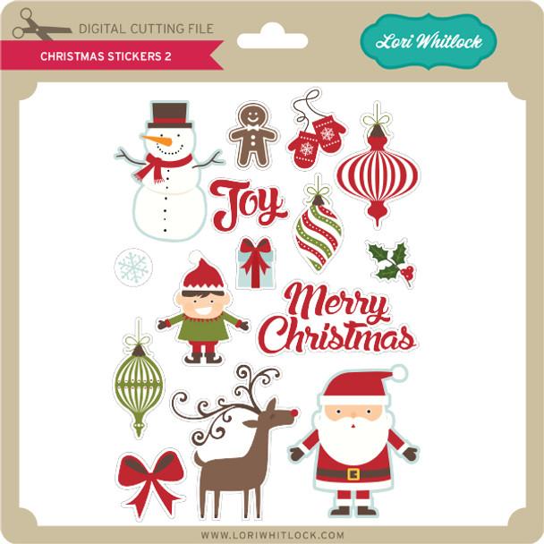 Christmas Stickers 2