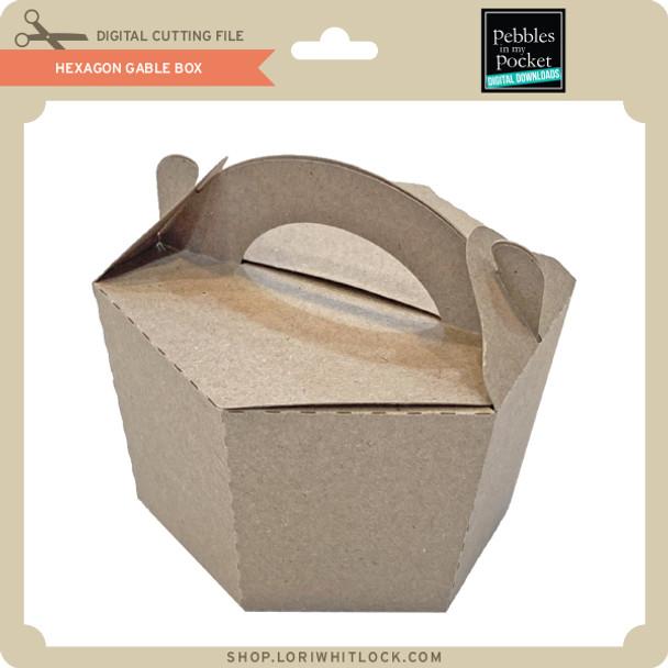 Hexagon Gable Box