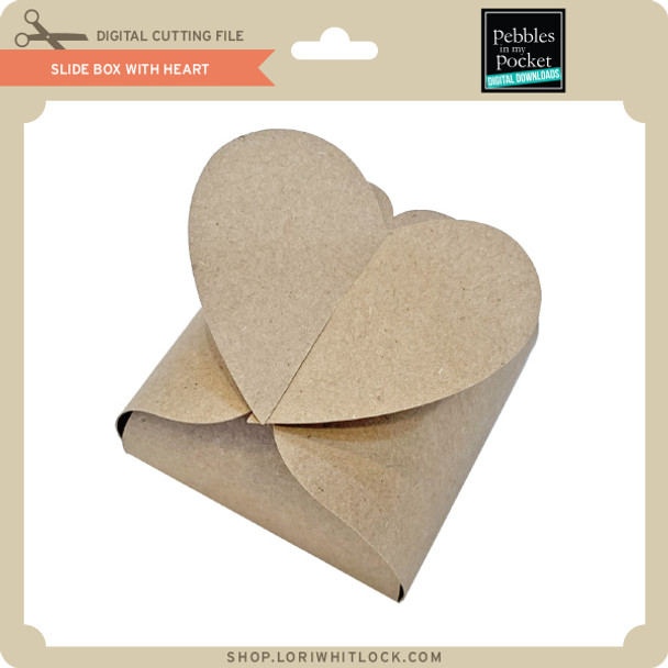 Slide Box with Heart