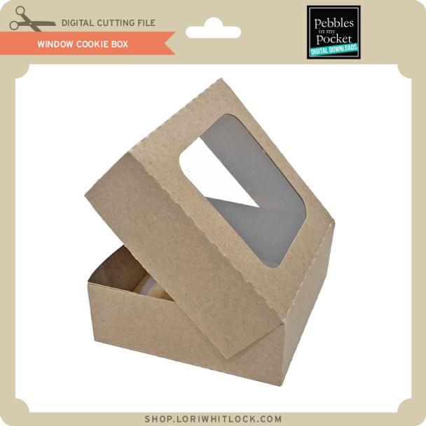 WIndow Cookie Box