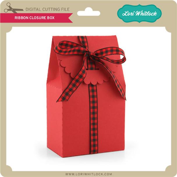 Ribbon Closure Box
