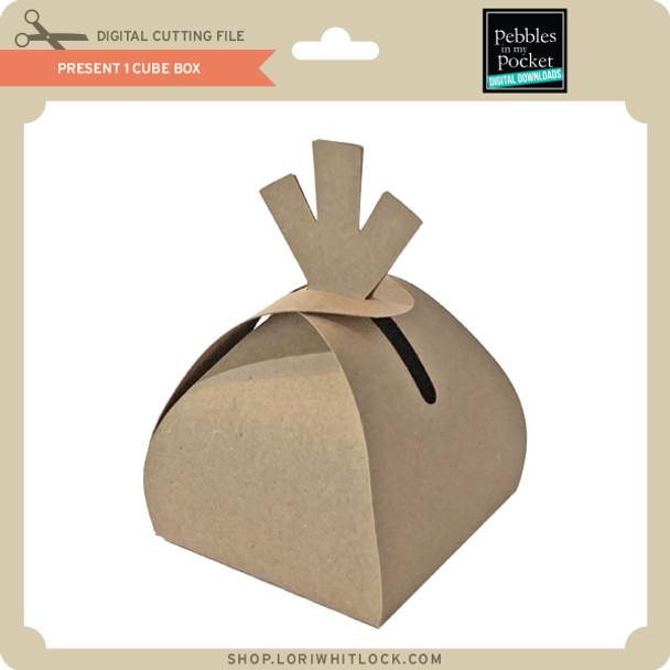 Present 1 Cube Box