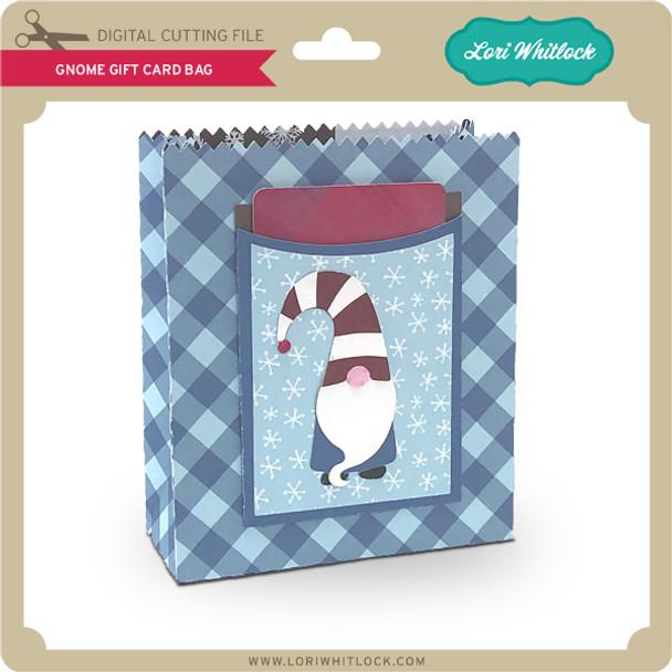 Gnome Gift Card Bag