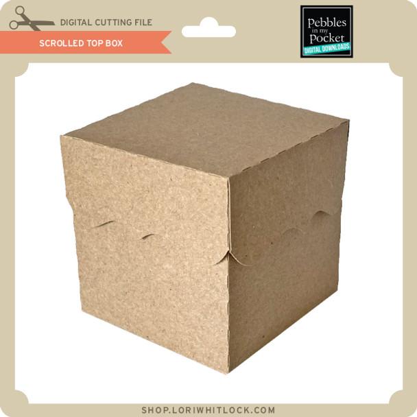 Scrolled Top Box