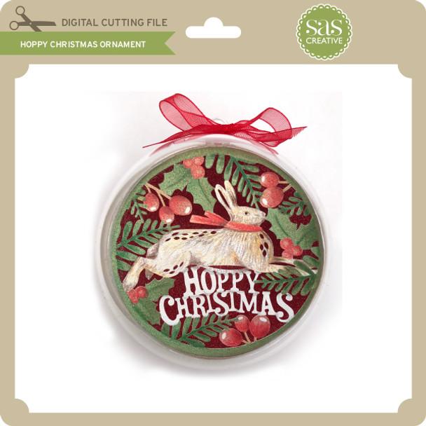 Hoppy Christmas Ornament