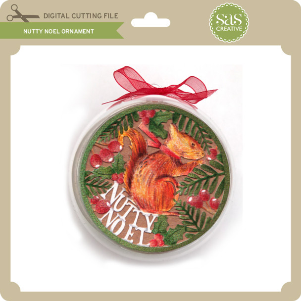Nutty Noel Ornament