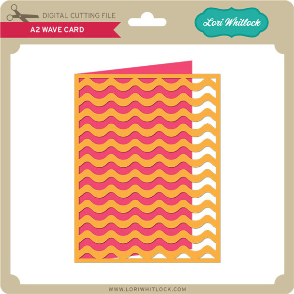 A2 Wave Card