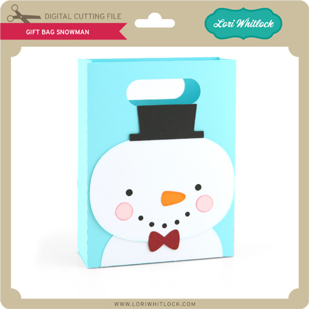 Gift Bag Snowman