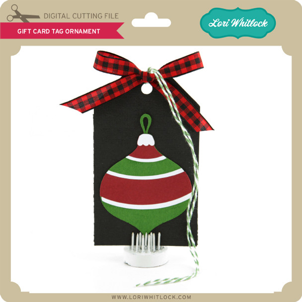 Gift Card Tag Ornament