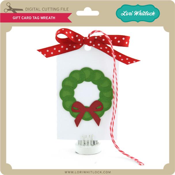 Gift Card Tag Wreath