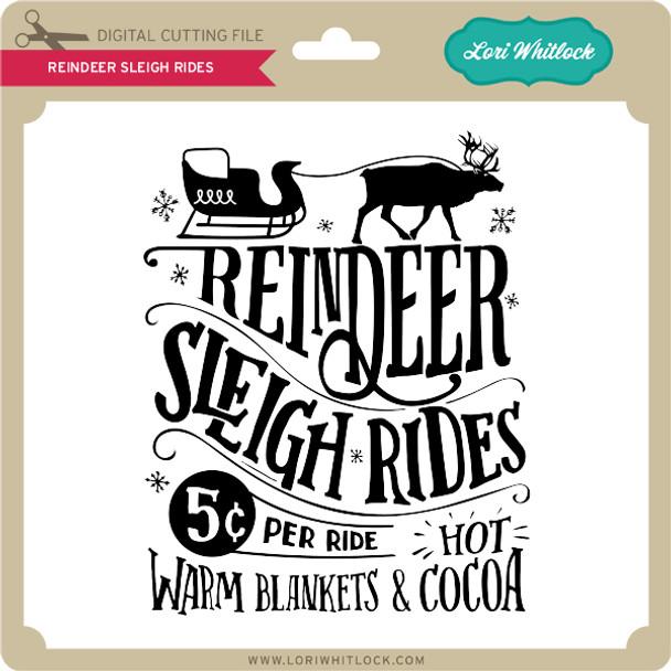 Reindeer Sleigh Rides