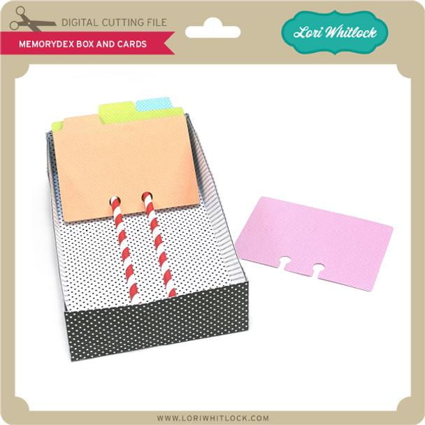 Memorydex Box and Cards