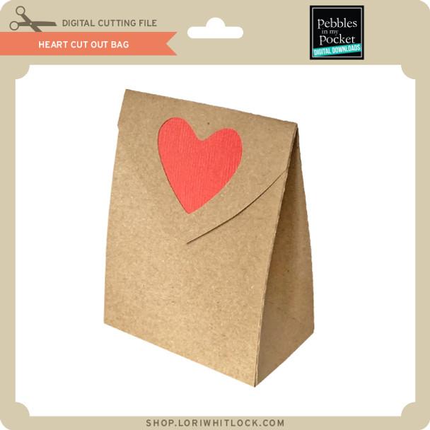 Heart Cut Out Bag